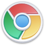 Chrome, Lite, Round Icon