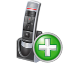 Add, Microphone Icon