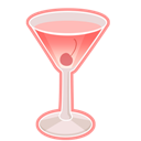 Cocktail, Rose Icon