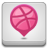 Dribbble, Square Icon