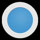 Blue, Circle, Light Icon