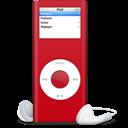 Ipod, Nano, Rouge, Sida Icon