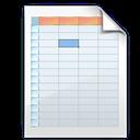 Shadow, Spreadsheet Icon