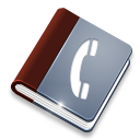 Book, Phone Icon