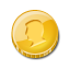 Coin, Gold, Payment, Single Icon
