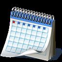 Calendar, Shadow Icon