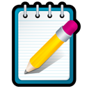 Notepad, Write Icon