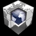Blocks, Earth, Hosting, Network, World Icon