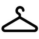Clothing, Hanger, Wardrobe Icon