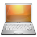 Computer, Document, Laptop Icon