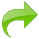 Arrow, Glossy, Redo, Right, Submit Icon