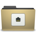 Folder, Manilla, Remote Icon