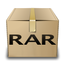 Application, Gnome, Mime, Rar, x Icon