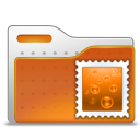 Email, Folder, Stamp Icon