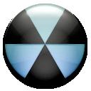 Burn, Nuclear, Radiation Icon