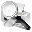 Printer, Search Icon