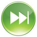 Fast, Forward, Green Icon