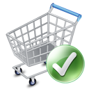 Added, Cart, Ecommerce, Exclude, Shopping, Webshop Icon
