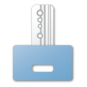 Blue, Key Icon