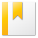 Bookmark, Yellow Icon