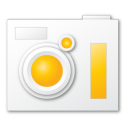 Camera, Yellow Icon