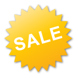 Label, Sale, Yellow Icon