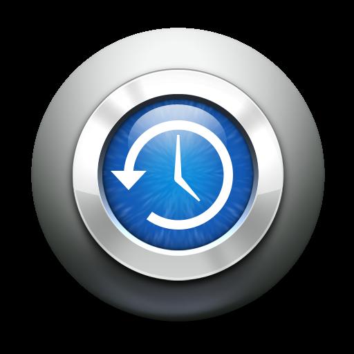 Backup, Machine, Time Icon