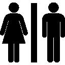Bathrooms, Men, Toilets, Women Icon