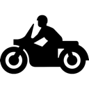 Cycle, Motor, Transportation, Vehicle Icon