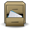 Cabinet, Collection, Drawer, File, Message, Office Icon
