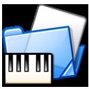 Folder, Midi, Piano Icon