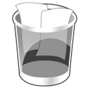 Can, Full, Trash Icon