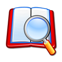 Book, Search, Zoom Icon