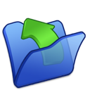 Blue, Folder, Parent Icon