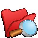 Explorer, Folder, Red Icon