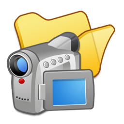 Folder, Videos, Yellow Icon
