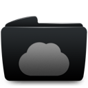 Black, Folder, Web Icon
