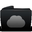 Black, Folder, Web Icon