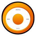 Ipod, Orange Icon
