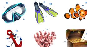 Scuba Diving Icons