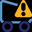 Shoppingcart, Warning Icon