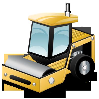 Compactor, Soil Icon