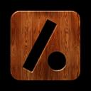 Dot, Logo, Slash, Square Icon