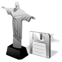 Cristoredentor, Jesus, Save Icon