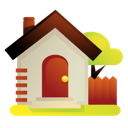 Garden, Home, House Icon