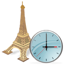 Clock, Torreeiffel Icon