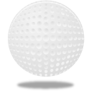 Ball, Golf, Sport Icon
