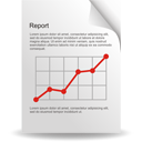 Analysis, Report, Statistics Icon