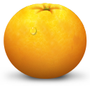 Fruit, Orange Icon