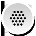 Round, Voicedial Icon